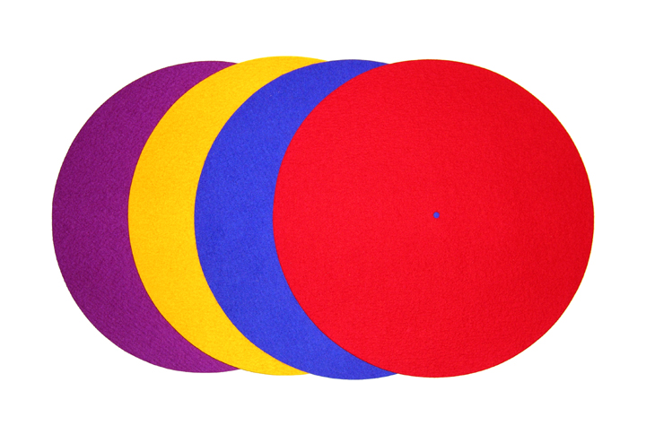 Rega Turntable Mat (Coloured) (P1, P2, P3, P5, P7)